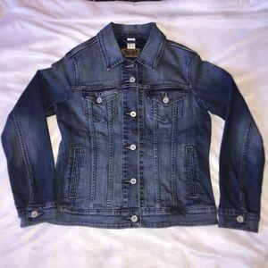 Levi's Women's Jean Denim Jacket Medium Wash
